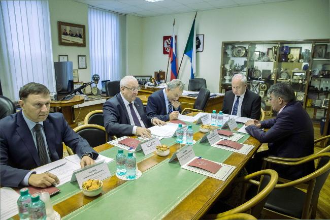 М. Даудов принял участие в совещании Совета законодателей приФС РФ